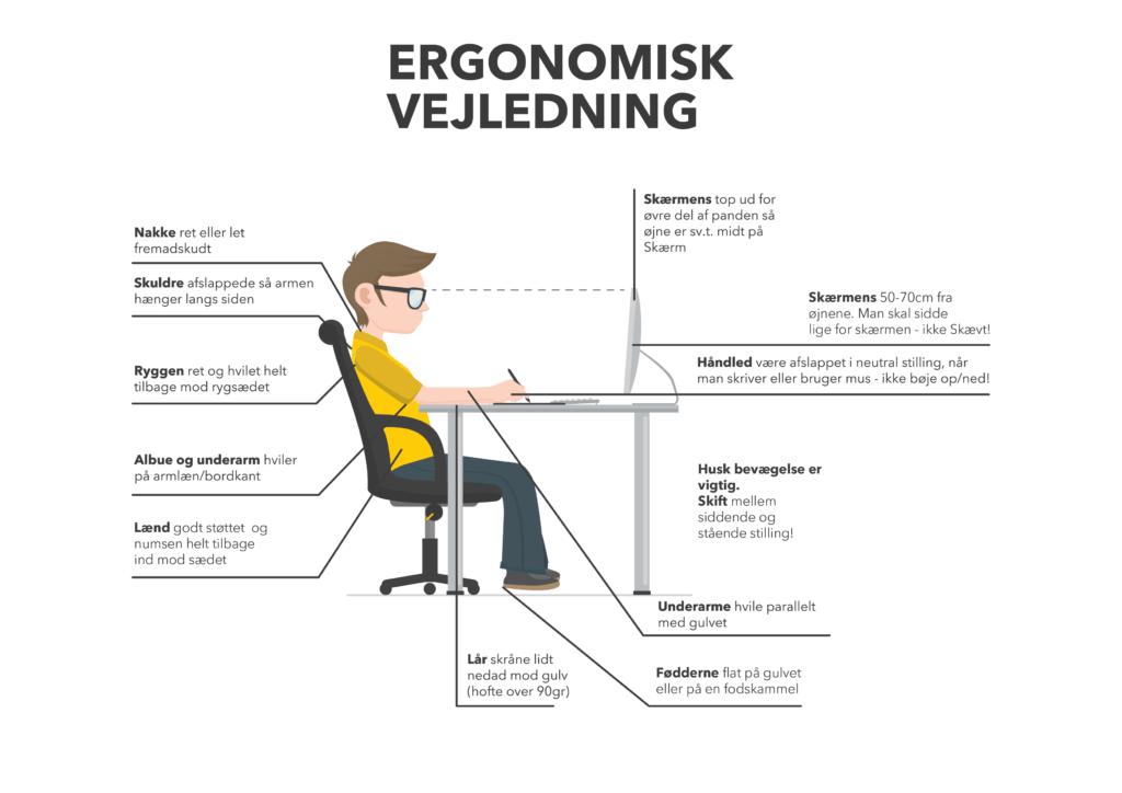 God ergonomisk vejledning til gaming stole og gaming
